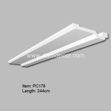 Special for Foam Indirect Lighting Boxes PU Cornice Molding for Indirect Lighting export to South Korea Exporter